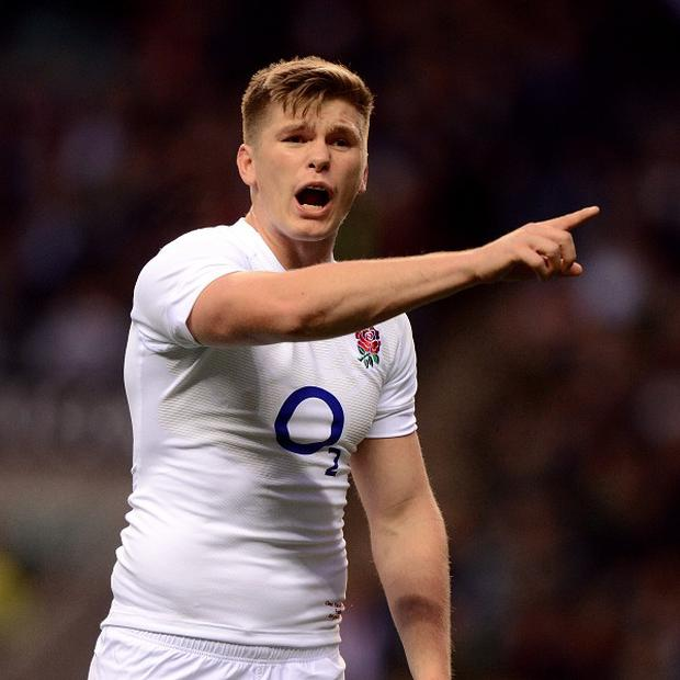 Owen Farrell has been shortlisted for the IRB player of the year