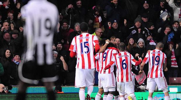 Cameron Jerome grabbed the winner as Stoke came from behind to beat Newcastle