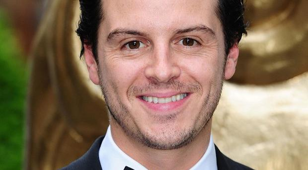 Andrew Scott was nervous about picking up his Bafta
