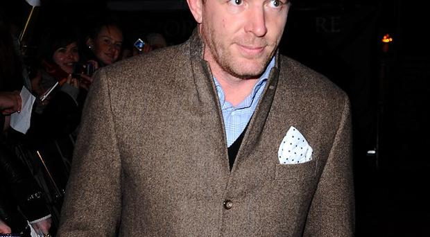 Guy Ritchie has become a father for the fourth time