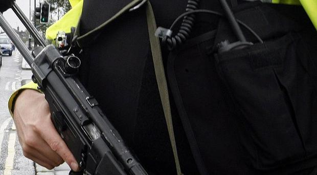 Police investigating dissident republican activity conducted searches in Newry, Co Down