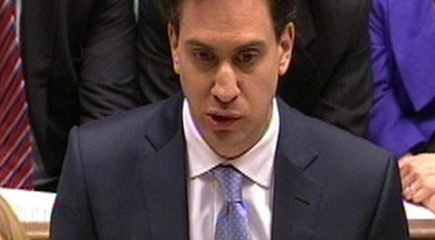 Labour Party leader Ed Miliband responds to Prime Minister David Cameron's statement on the Leveson report