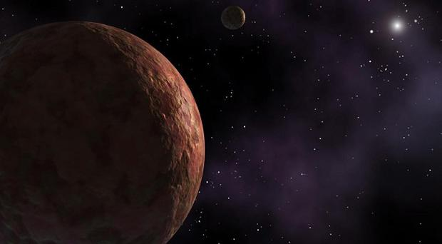 The frozen water is located in regions of Mercury's north pole that always are in shadows, essentially impact craters
