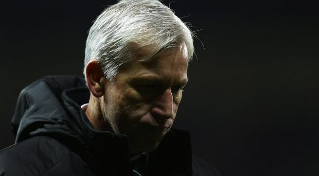 Alan Pardew led Newcastle United to fifth place in the Premier League last season