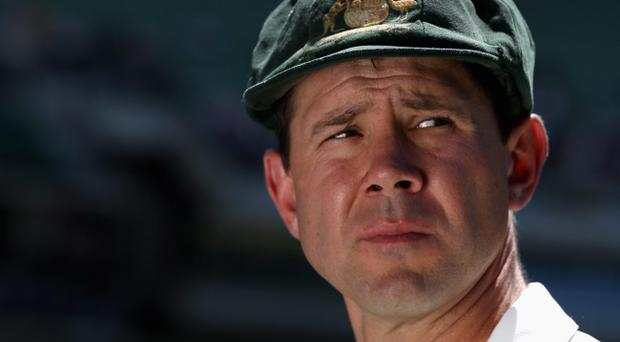Ricky Ponting is playing in his last Test match after announcing his retirement