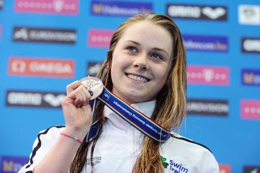 Sycerika McMahon clinched a superb bronze in the 50m breaststroke at the European Short Course Championships in France