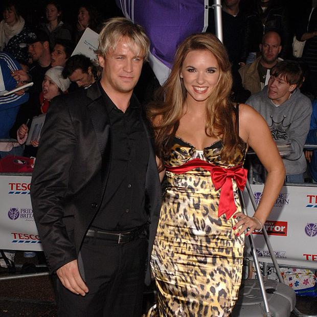 Kian Egan and Jodi Albert's son is already keen on music