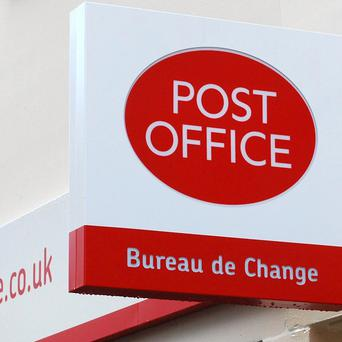 The Post Office has opened its first ever temporary 'pop-up shop' to help cope with the Christmas surge
