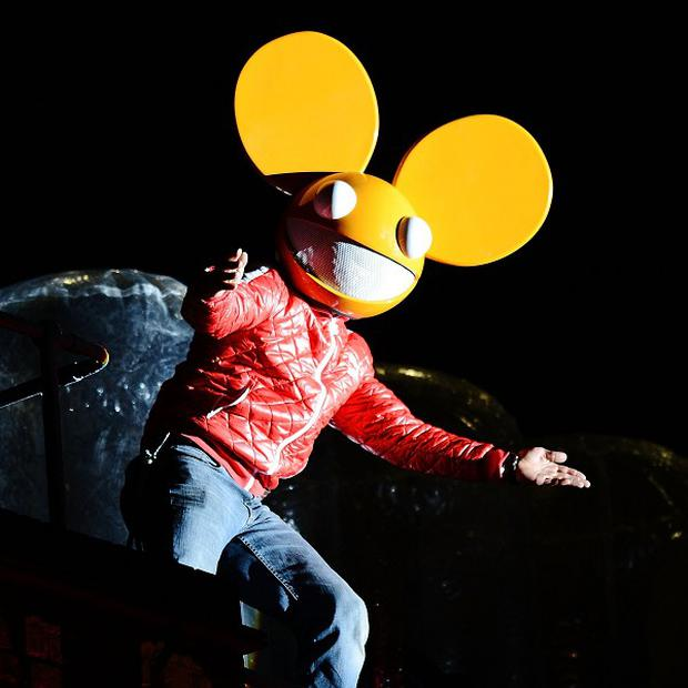 Deadmau5 performed in London