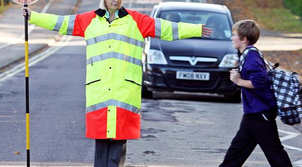 The GMB criticised plans by communications giant Talk Talk to sponsor school crossing patrols