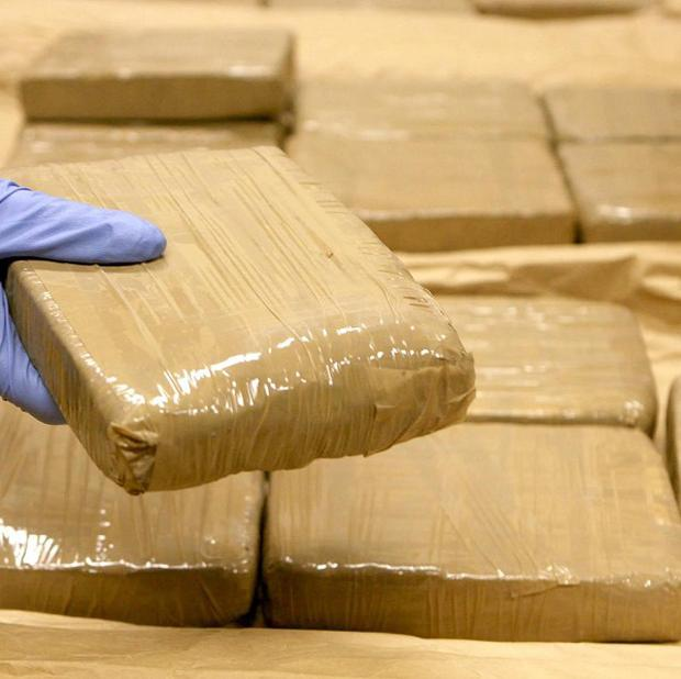 A total of 41 kilos of heroin with a minimum street value of more than three million pounds was seized