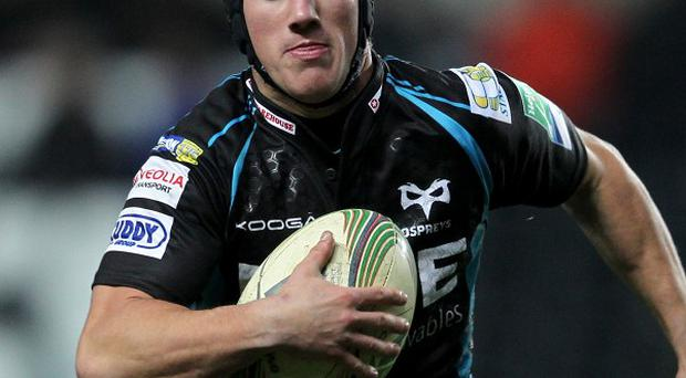 Matthew Morgan kicked four penalties and made three conversions for Ospreys