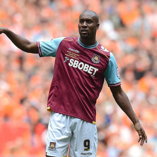 Carlton Cole scored the equaliser to set up West Ham's come-from-behind win