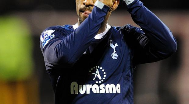 Jermain Defoe scored twice for Tottenham in a comfortable victory over Fulham