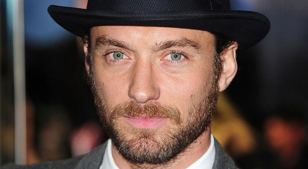Jude Law says he's not a young heartthrob anymore