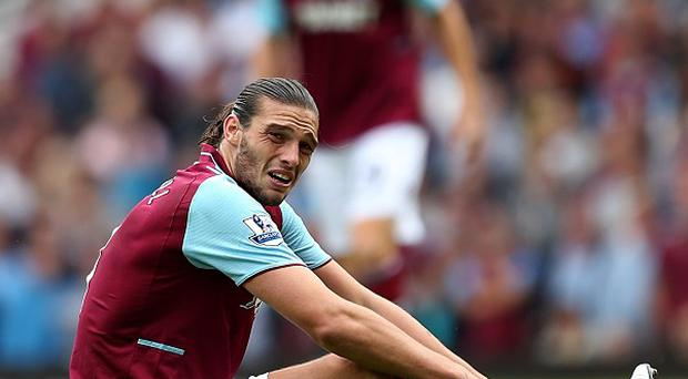 Andy Carroll picked up the injury in the midweek loss to Manchester United