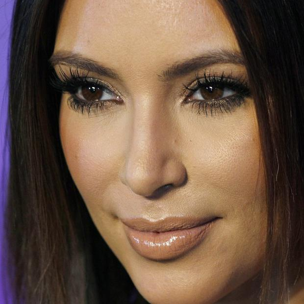 Kim Kardashian tweeted the Bahrain was the 'prettiest place on Earth' (AP)