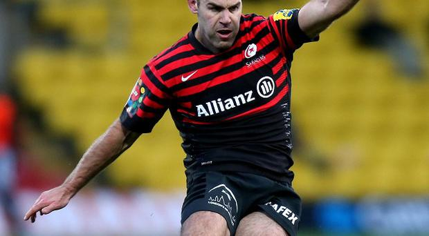 Charlie Hodgson landed seven penalties as Saracens beat Gloucester
