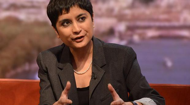 Shami Chakrabarti claimed legislation could breach the Human Rights Act (Jeff Overs/BBC/PA)