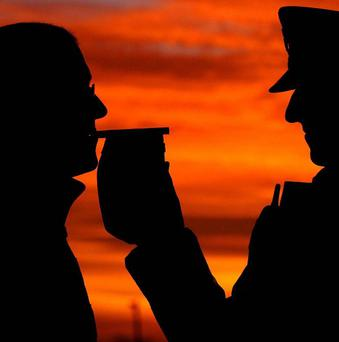 Police officers will be out on the roads with around 2,000 breathalysers
