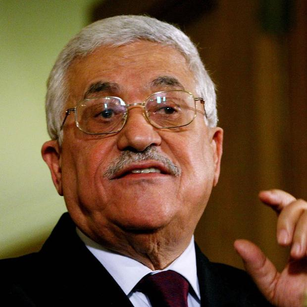Palestinian president Mahmoud Abbas has been given a hero's welcome