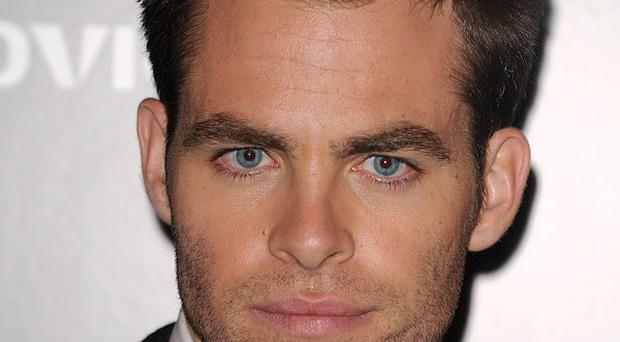 Chris Pine said filmmaker JJ Abrams is a 'great leader'