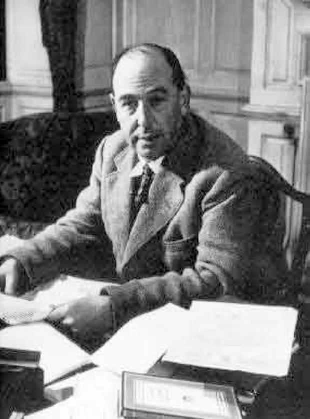 Honour: Ulster-born writer CS Lewis is to be recognised with a memorial in Westminster Abbey