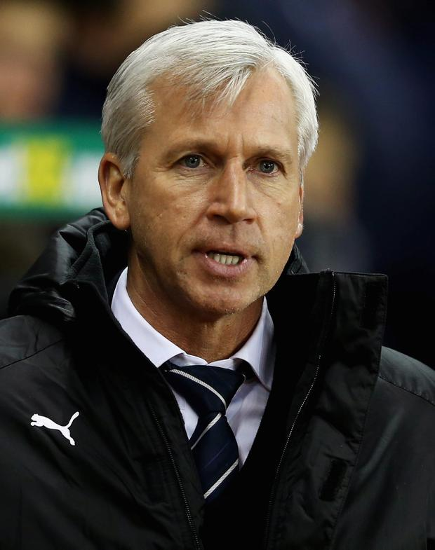 Alan Pardew's Newcastle have lost four successive Premier League games