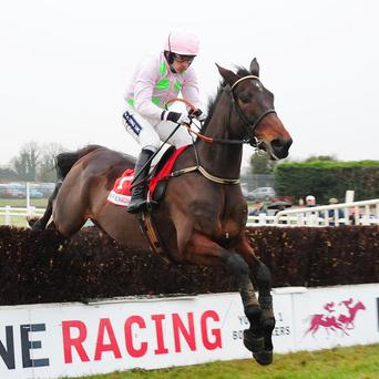 Arvika Ligeonniere on the way to winning the Drinmore under Ruby Walsh