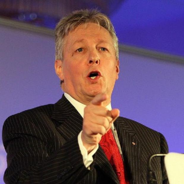 Peter Robinson believes nationalism is in crisis