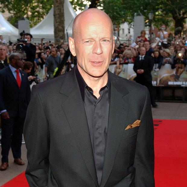 Movie fans trust Bruce Willis to save them from an apocalypse