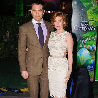 Chris Pine and Isla Fisher provide voices for Rise Of The Guardians