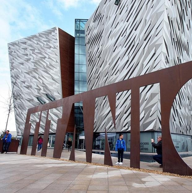Titanic centre in Belfast