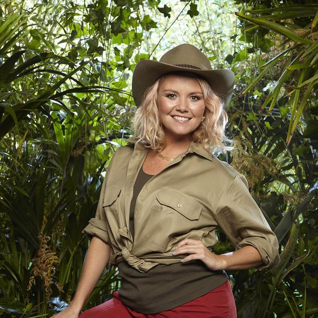 Charlie Brooks was worried about her daughter after the jungle door challenge