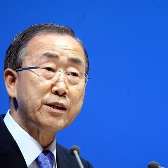 Ban Ki-moon has warned of the need for urgent climate change deals (AP)
