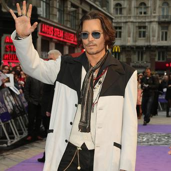 Johnny Depp performed with rocker Alice Cooper