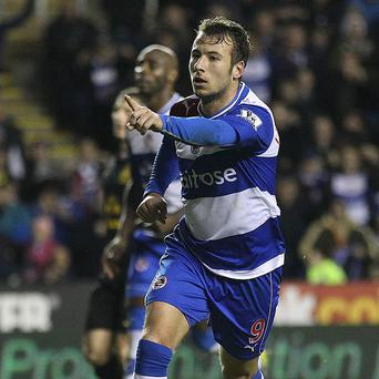 Adam Le Fondre netted in Reading's 4-3 defeat by Manchester United