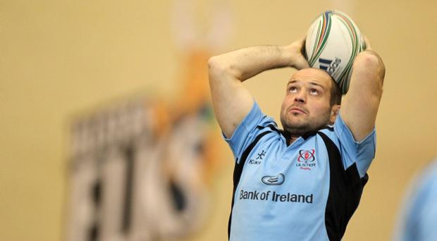 Rory Best is relishing a trip to Franklin's Gardens on Friday night