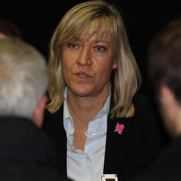 Debbie Jevans, pictured, has appointed Neil Snowball into the position of rugby operations director for the 2015 World Cup