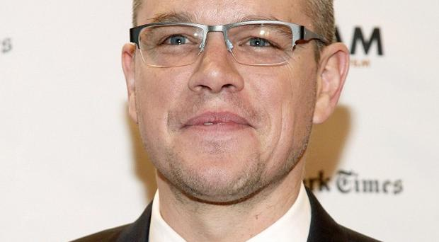 Matt Damon is in the frame for The Monuments Men