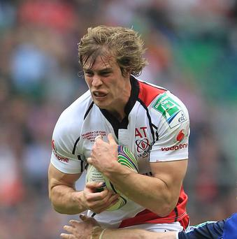 Andrew Trimble will start for Ulster against Northampton Saints