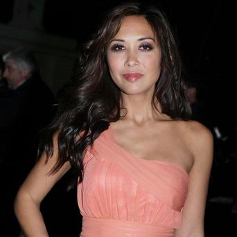 Myleene Klass helped decide which military heroes won awards