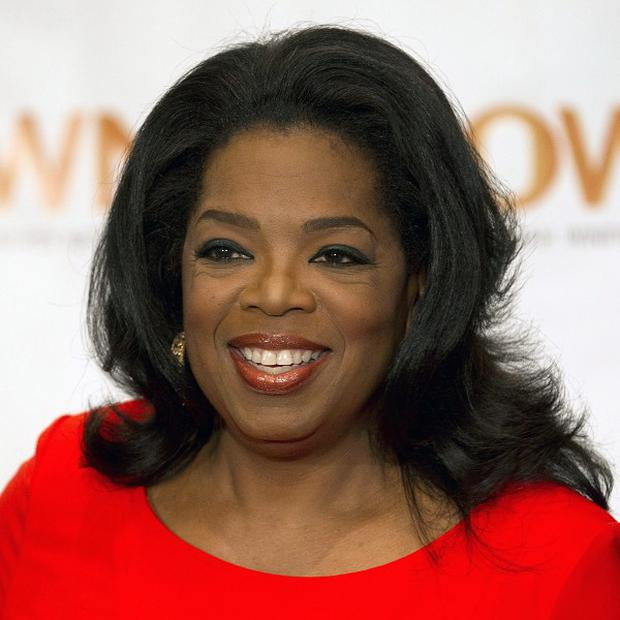 Oprah Winfrey was honoured at Alicia Key's Black Ball in New York (AP)