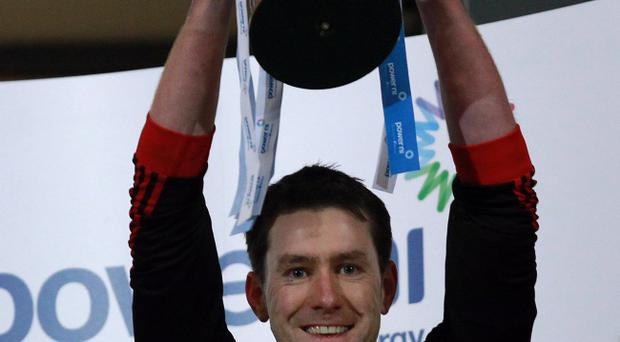 Tyrone captain John Devine lifts the McKenna Cup earlier this year, but the 2013 competition is already facing withdrawal threats from universities