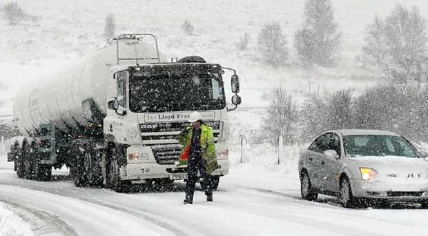 Icy weather warnings have been issued for Scotland, northern England and parts of the Midlands and East Anglia