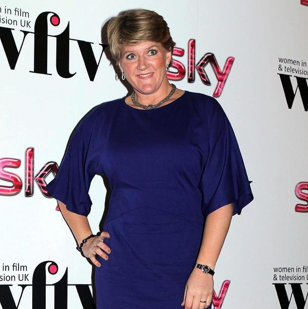 Clare Balding has been honoured for her TV work on the Olympics
