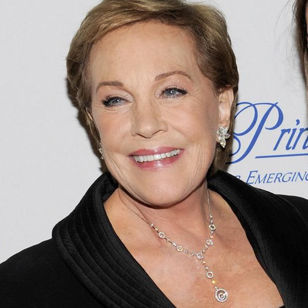 Dame Julie Andrews has had to find new ways of using her voice