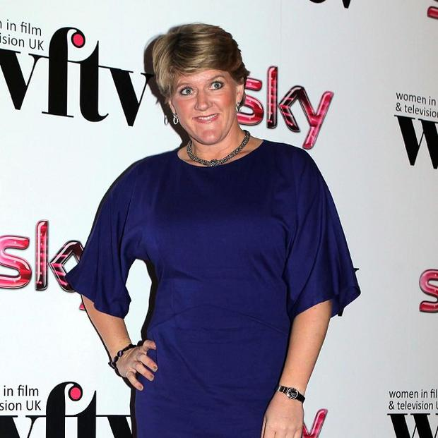 Clare Balding was honoured for her role as presenter during the Olympics