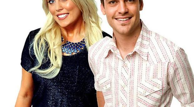2 Day FM radio presenters Mel Greig, left, and Michael Christian made the prank call to the hospital (AP/APP/Southern Cross Austereo Sydney)