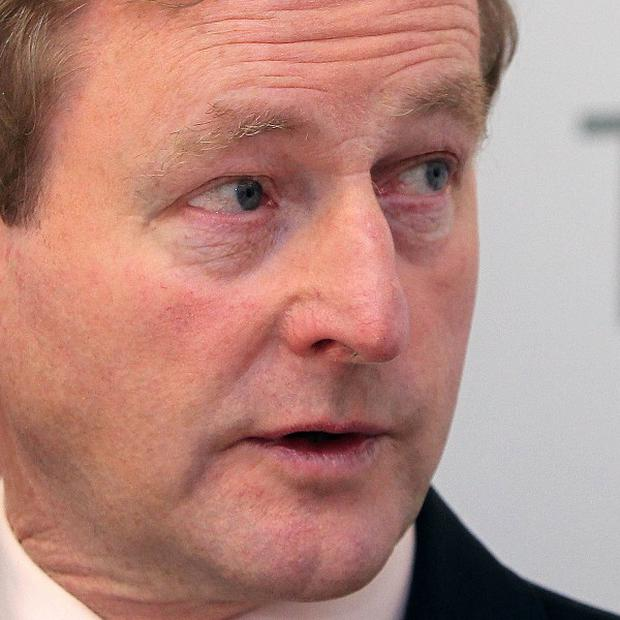 Enda Kenny announced 100 new jobs will be created at Nypro Healthcare